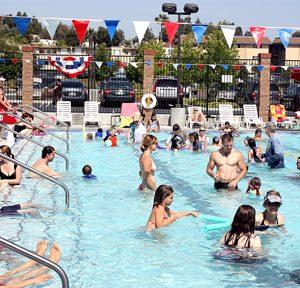 image of community pool at CLU