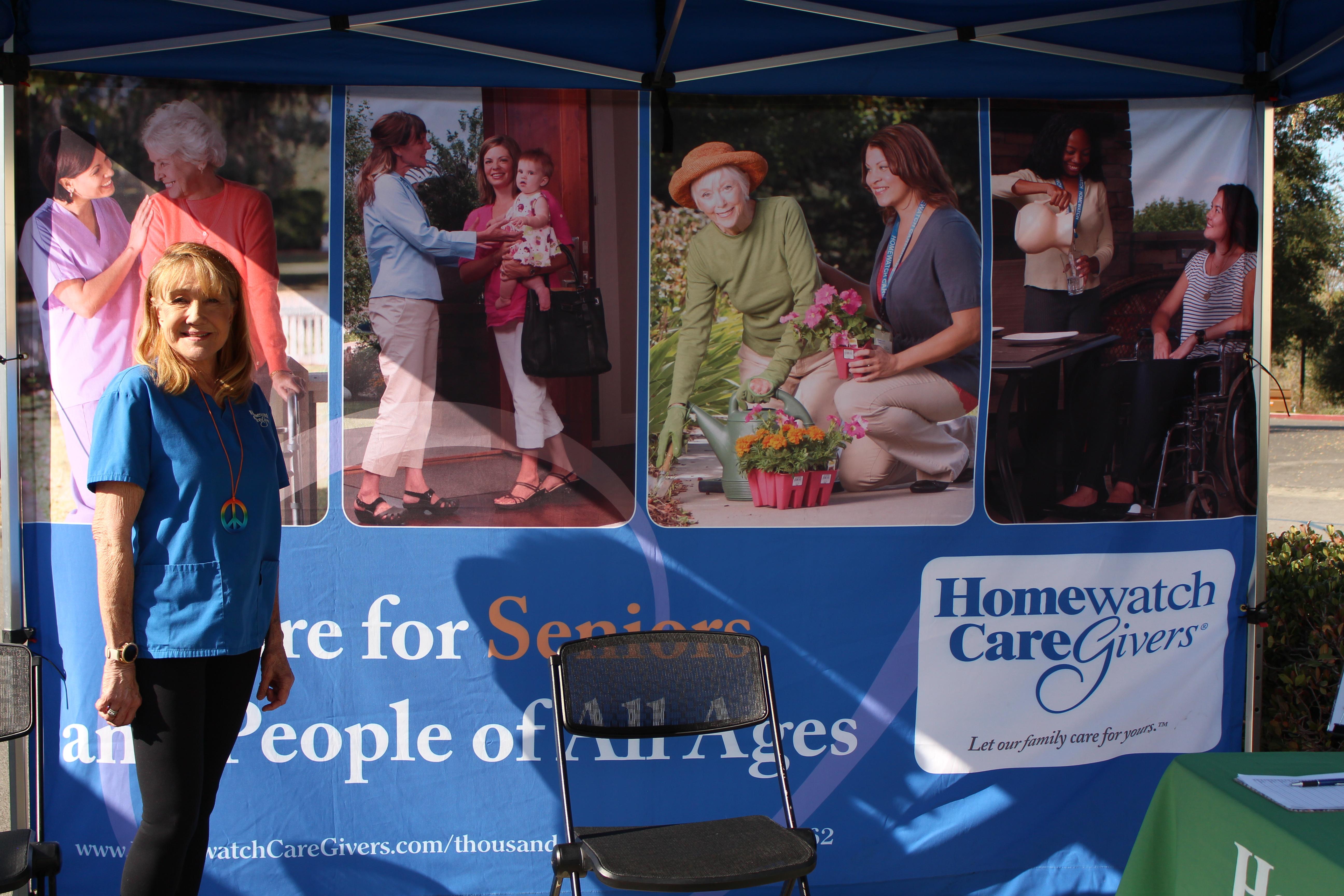 Homewatch caregivers outside photo